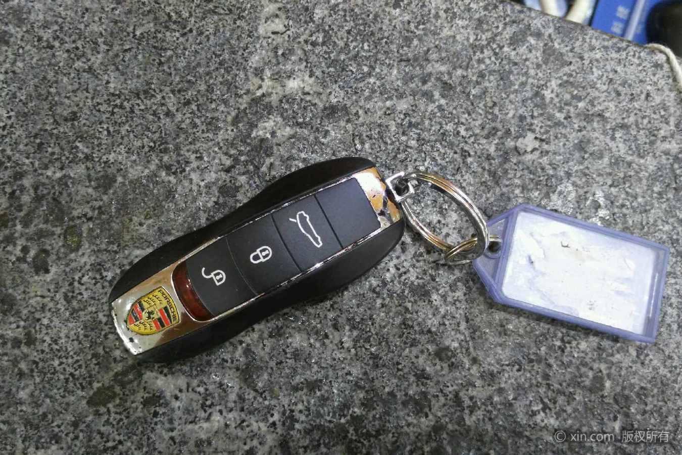 保时捷panamera钥匙