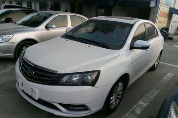 吉利汽车 帝豪三厢 2014款 1.3T 自动 尊贵型