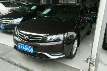吉利汽车 帝豪三厢 2016款 1.5 手动 豪华型
