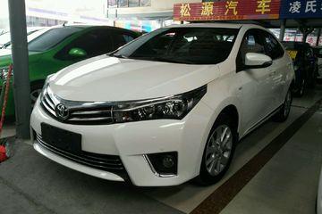 丰田 卡罗拉 2014款 1.6 自动 GL-i真皮版