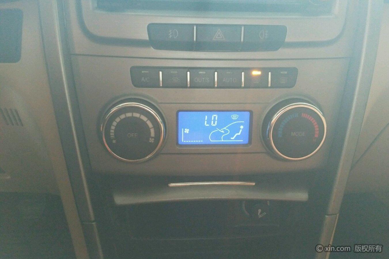 奇瑞瑞虎空调调节区