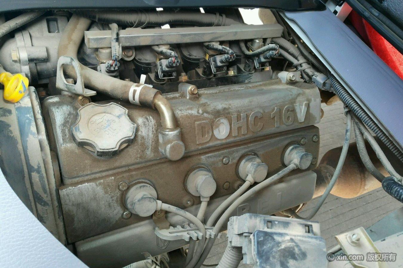 金杯小海狮x30发动机特写