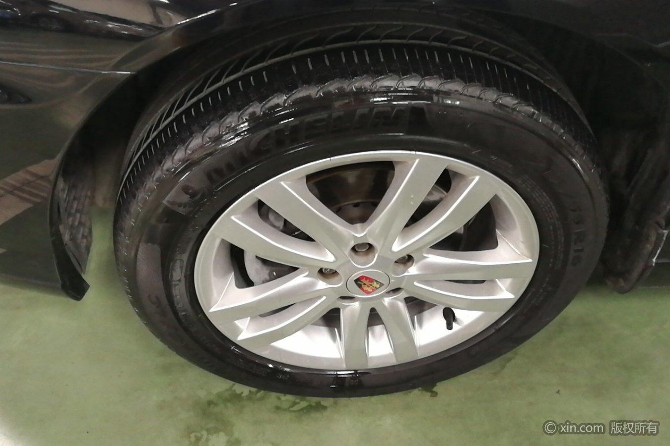 荣威750左前轮胎星阳光世纪元素