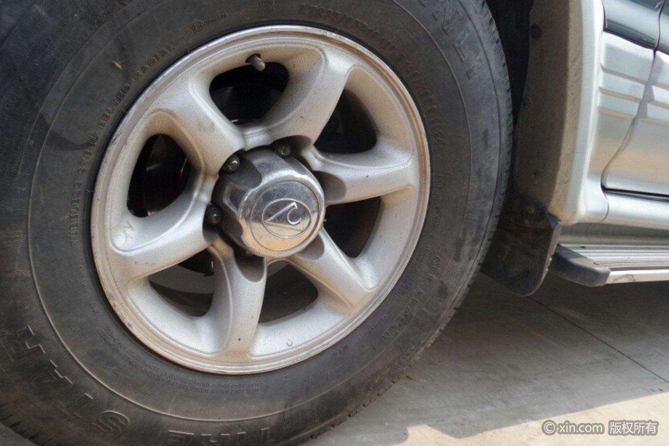 猎豹汽车黑金刚轮毂