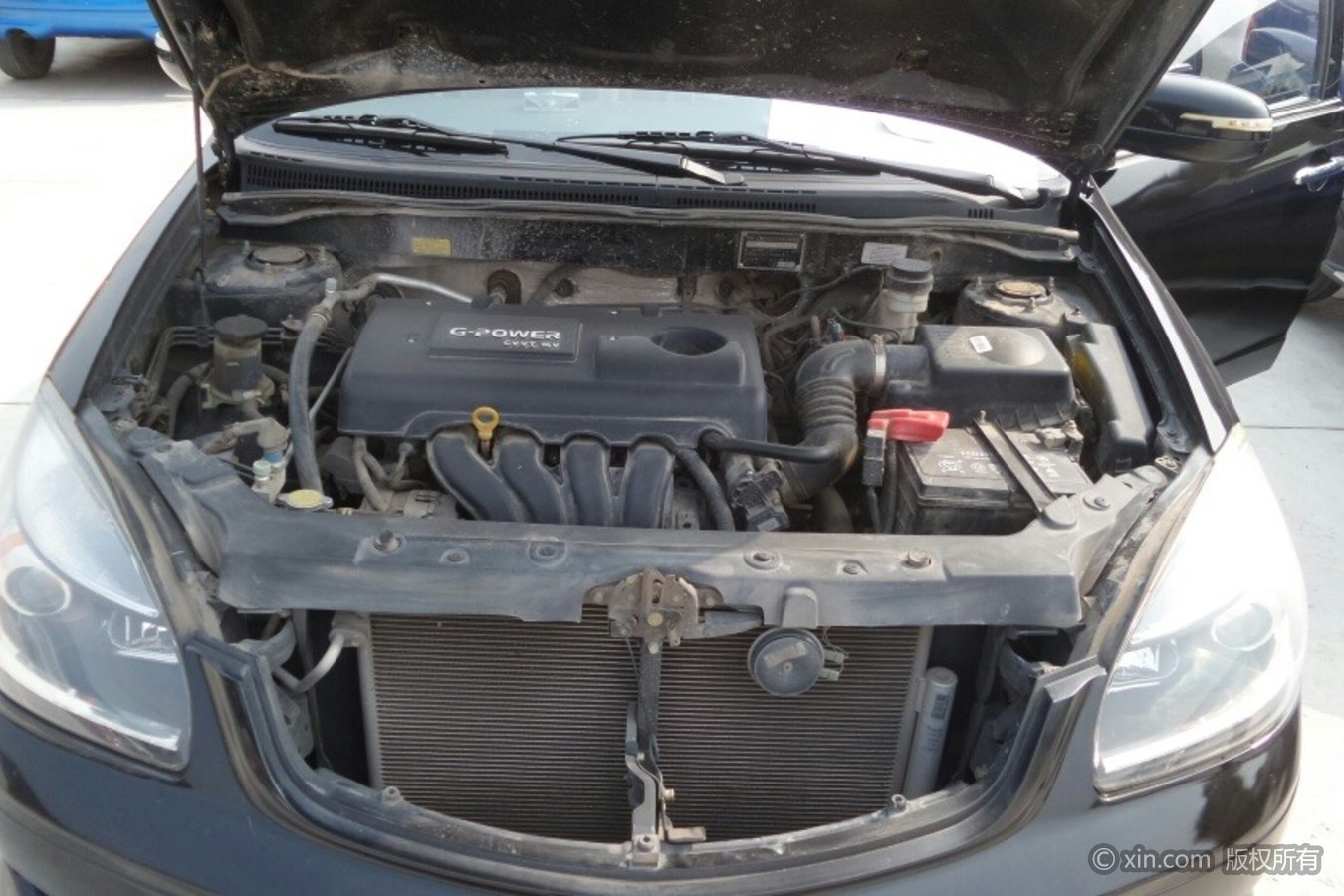 吉利汽车SC7发动机