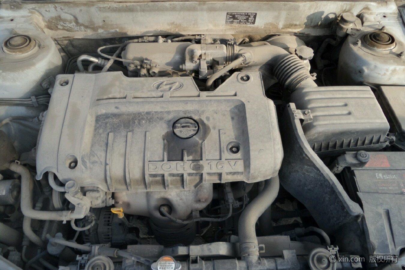 现代伊兰特发动机